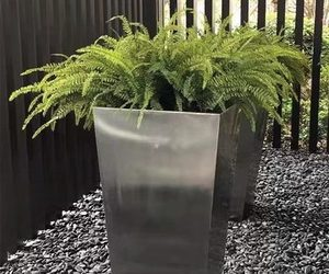 Stainless Steel Flowerpot Details and Types of Flowerpots