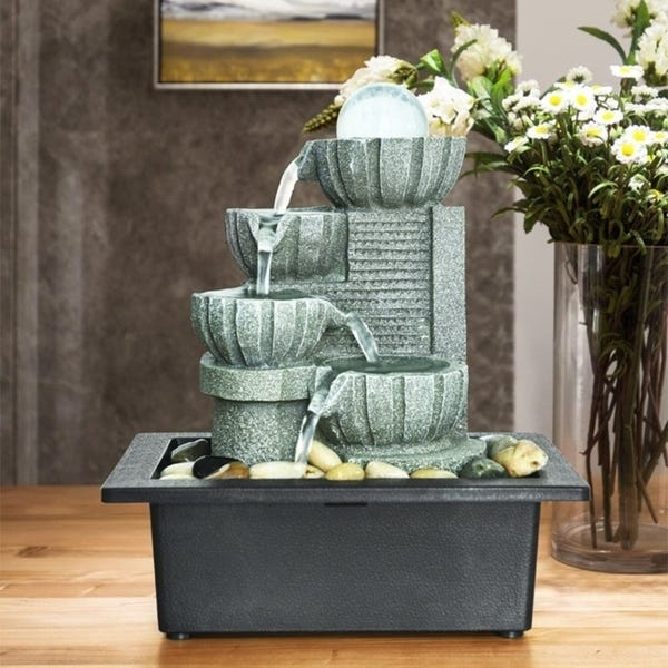 Get Started With Some Indoor Decoration With Water Fountain
