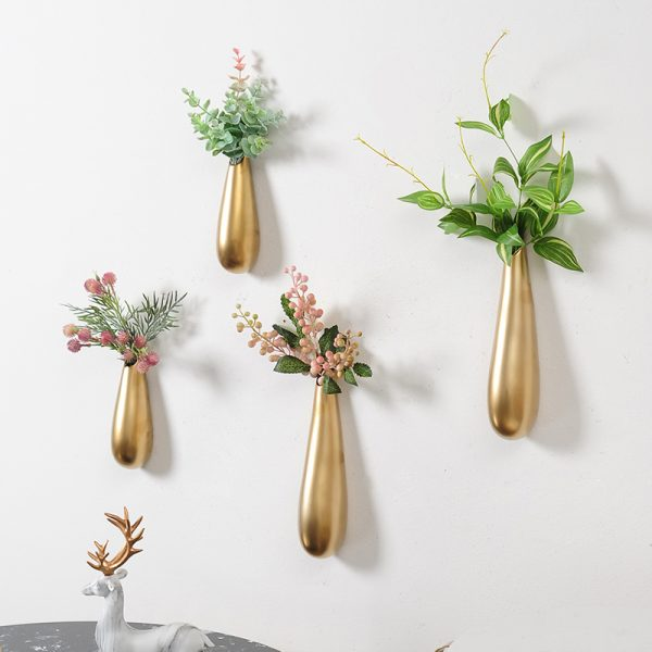 stainless steel flower pots for decoration home
