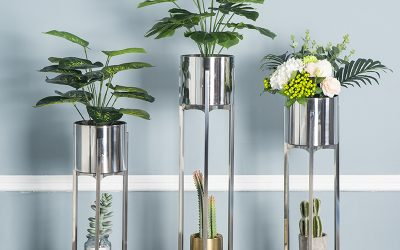 Stainless steel Flower pot: Bring The Aesthetic Home