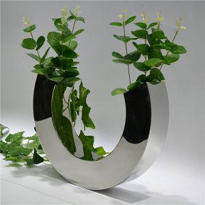 Fashion creative alphabet C design stainless steels