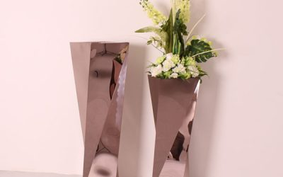 Is Planting on Stainless Steel Flower Pots Safe?